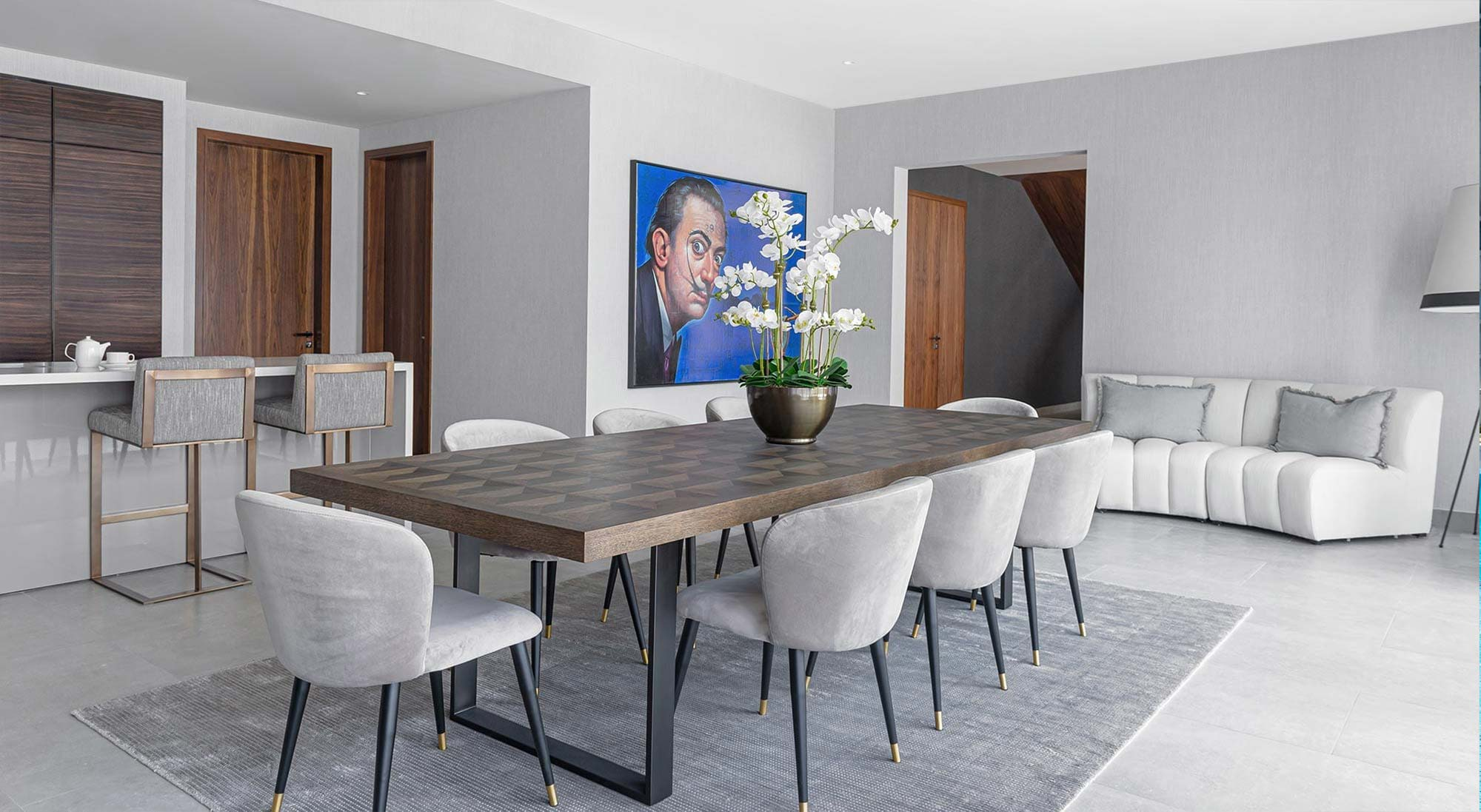 Artfully Designed Dining Spaces